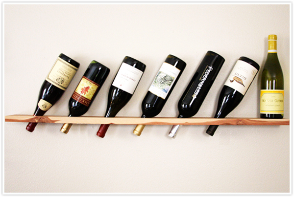 wood wine rack design