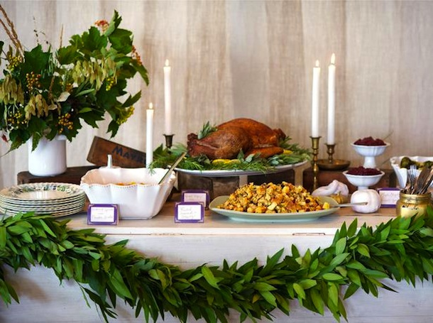 Rustic Amp Rich Thanksgiving Buffet Camille Styles