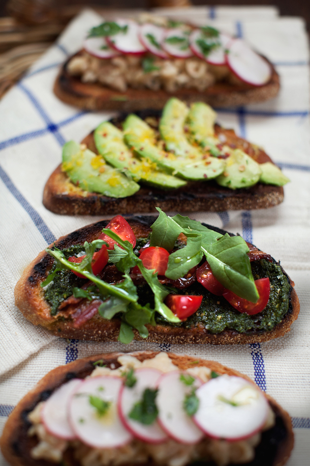 Tuesday Tastings Build Your Own Tartines Camille Styles