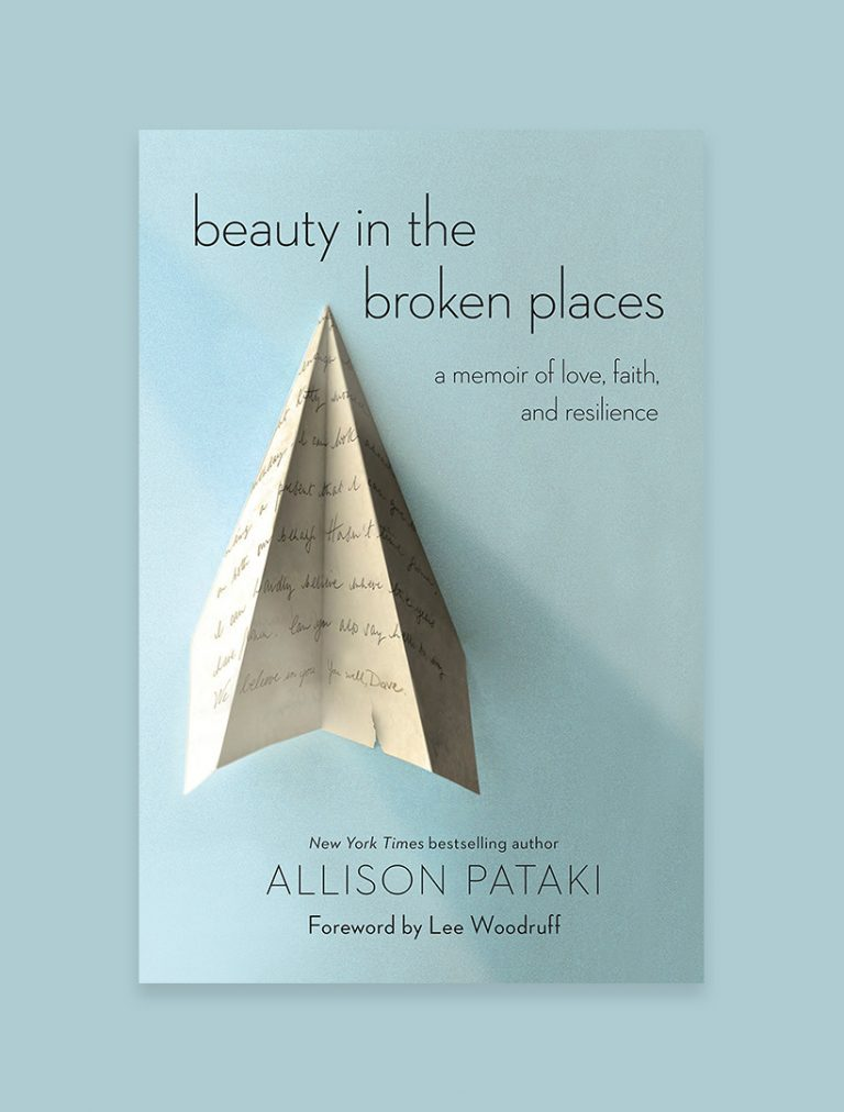 Beauty in the Broken Places: A Memoir of Love, Faith, and Resilience, by Allison Pataki Wow. I started reading this memoir on last week's trip to New York and ended up staying up way too late in my hotel room because I couldn't put it down. Pataki shares the story of her young, healthy 30-year-old husband having an unexpected and rare stroke when she was 5 months pregnant with their first child, and her telling is at once heartbreaking, tragic, raw, and beautiful. It's a haunting reminder that our lives can be turned upside down in the blink of an eye, and the way we respond is the truest test of our resilience, faith, and love for others.