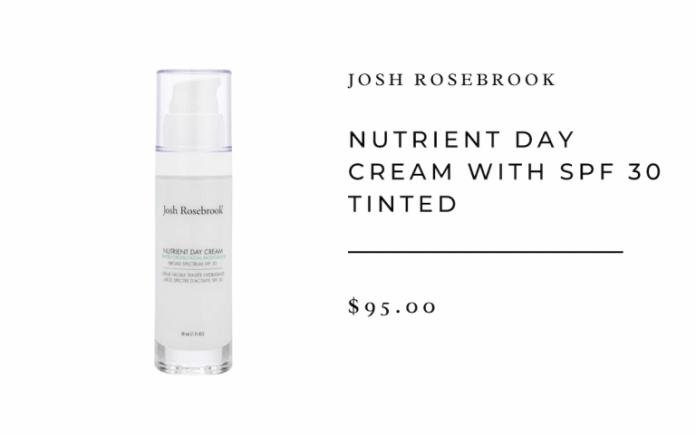 josh rosebrook sunscreen
