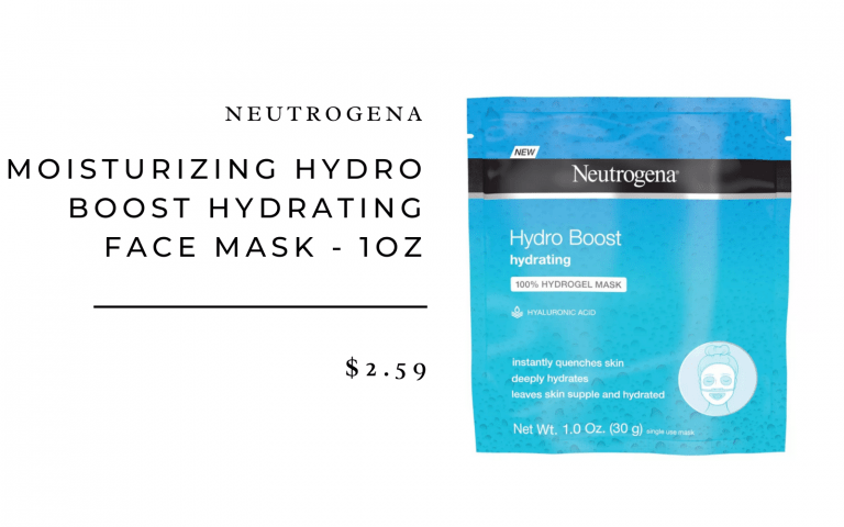 Neutrogena Moisturizing Hydro Boost Face Mask