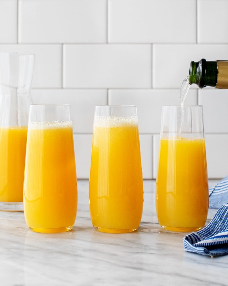 mimosa -- love and lemons