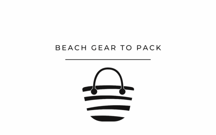 things to pack for the beach
