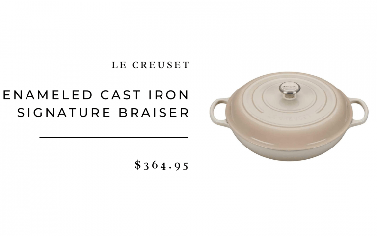Le Creuset Enameled Cast Iron Signature Braiser, 5 qt.
