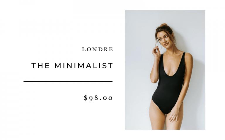 Londre the minimalist one piece