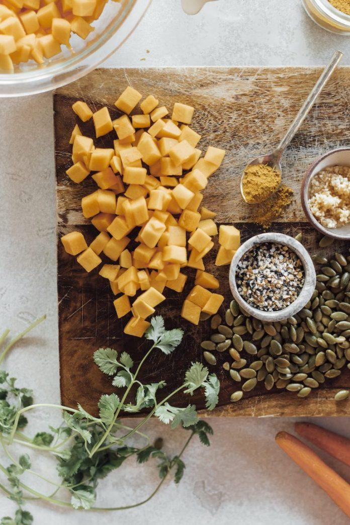 vegan butternut squash soup recipe ingredients