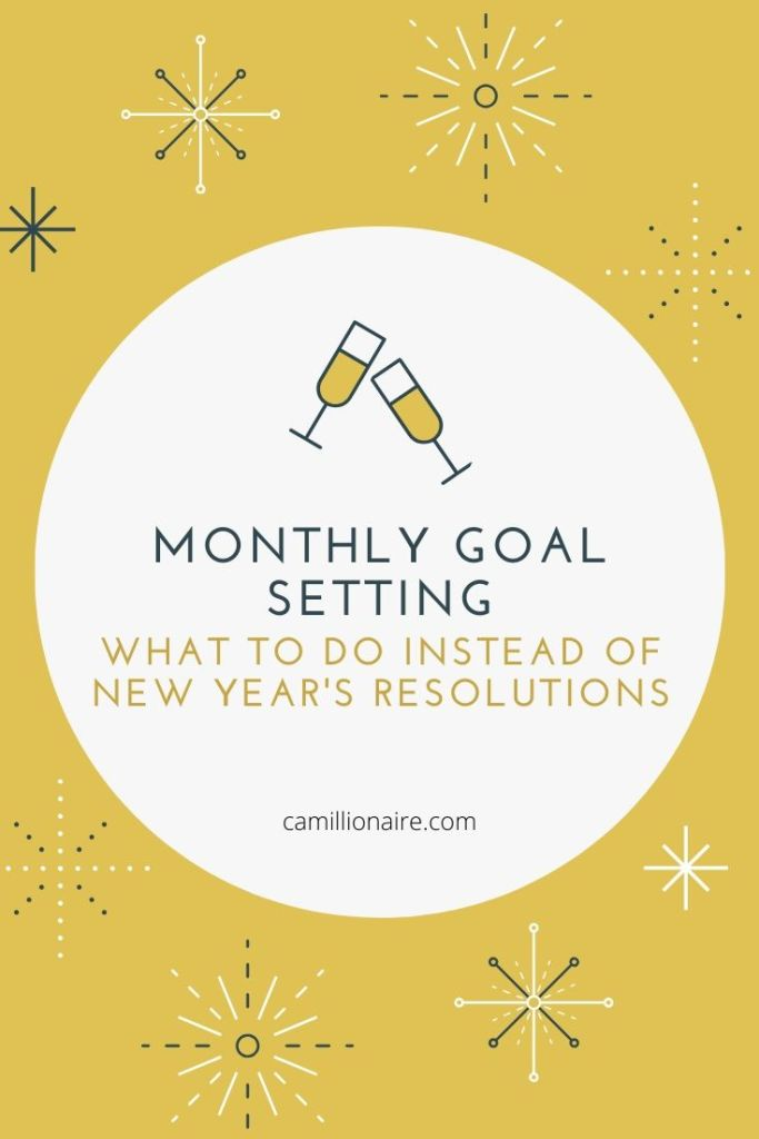 Monthly Goal Setting - What To Do Instead of New Year's Resolutions