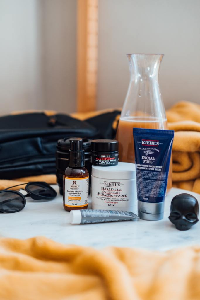 Photo of Kiehl's skin care items