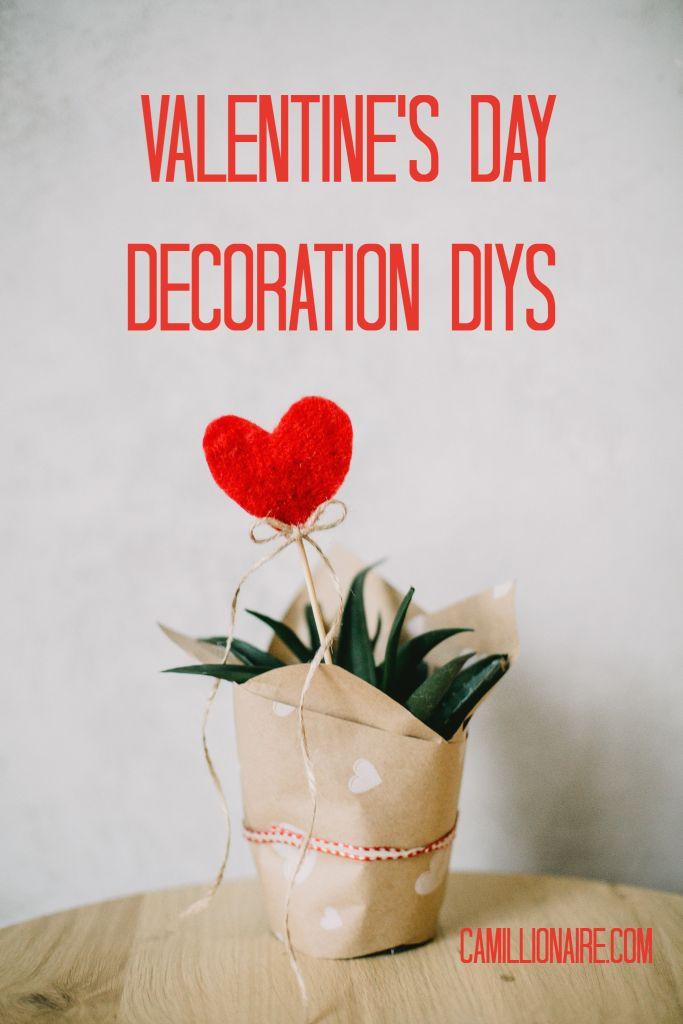 Valentine's day decoration DIYs