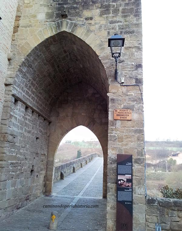 Puente la Reina, cruce de caminos es pos de Santiago de Compostela.
