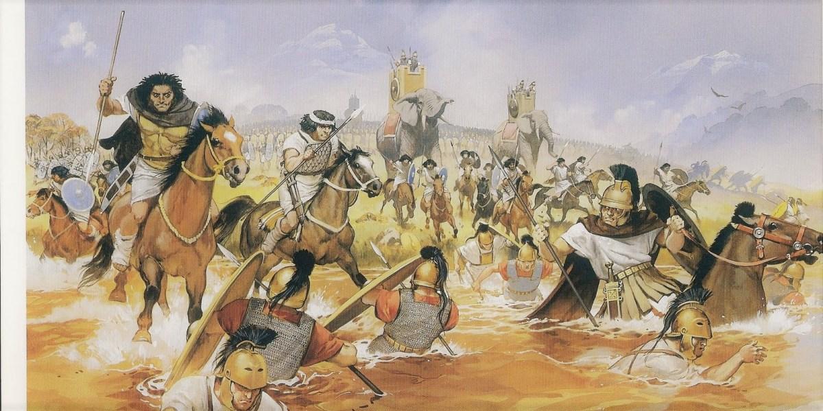 Aníbal pasó por Salamanca para ir a conquistar Roma.