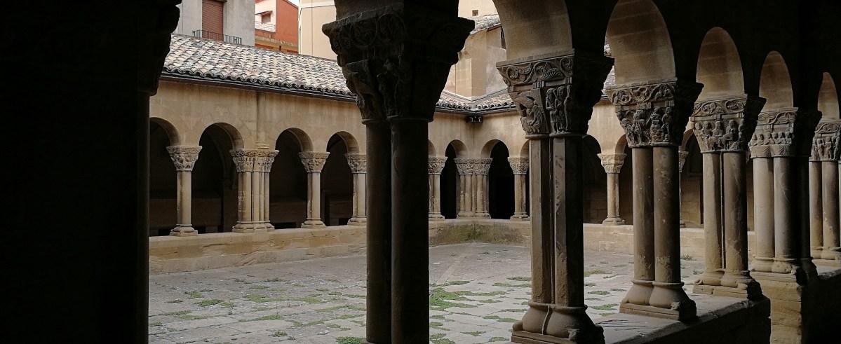 San Pedro el Viejo, la joya románica donde descansa Alfonso I el Batallador.