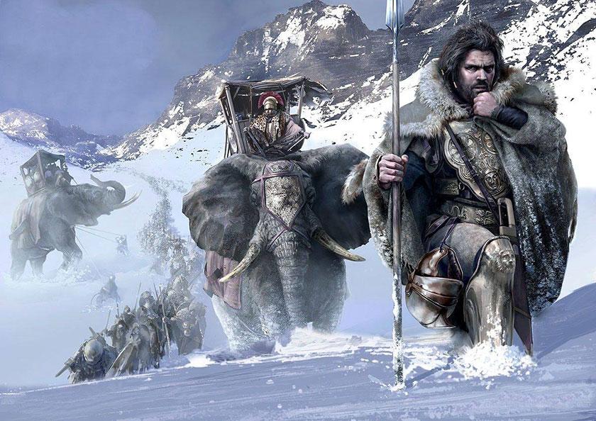 Aníbal cruzando los Alpes, Mariusz Kozik