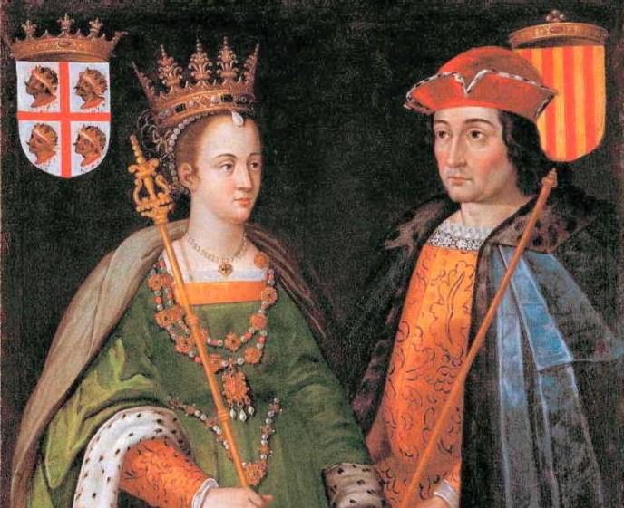Ramón Bereguer IV junto a sus esposa Petronila