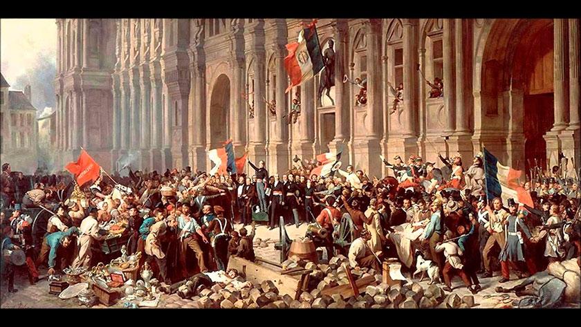Historia contemporánea revoluciones liberales en Francia