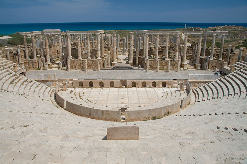 Teatro romano de Leptis Magna