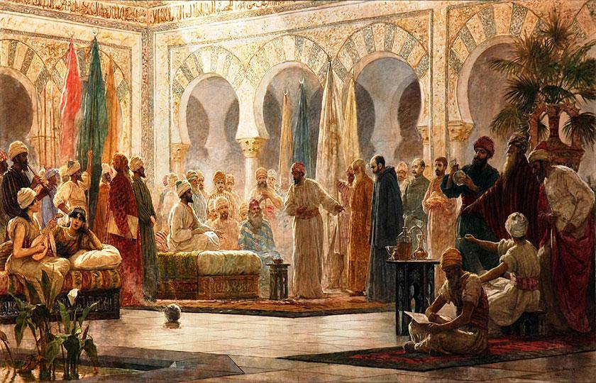 La corte de Abderramán III