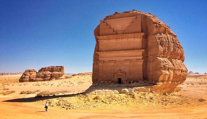 Tumba nabatea de Madain Saleh