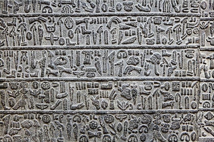 jeroglíficos hititas.