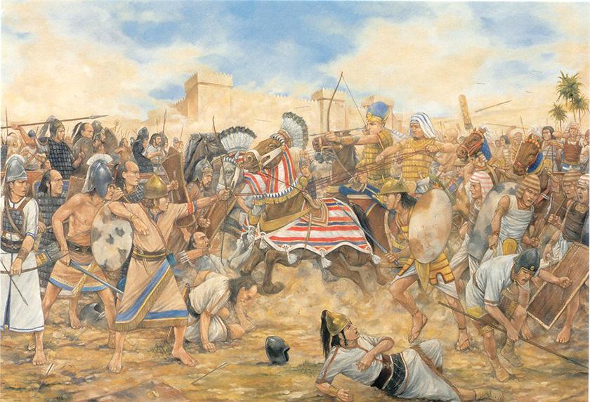 La batalla de Kadesh