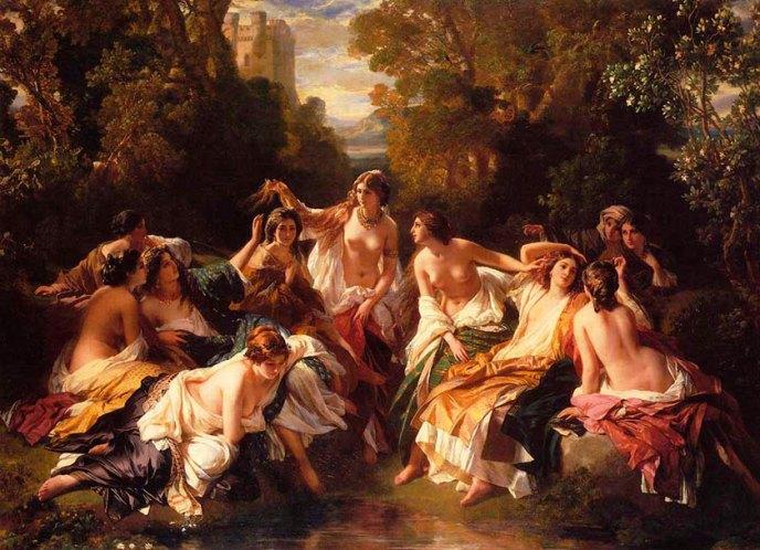 Baño de Florinda la Cava, entre los matarroles surge la cabeza del Rey Rodrigo