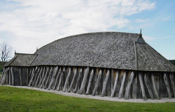 Materiales perecederos utilizados en la viviendas vikingas