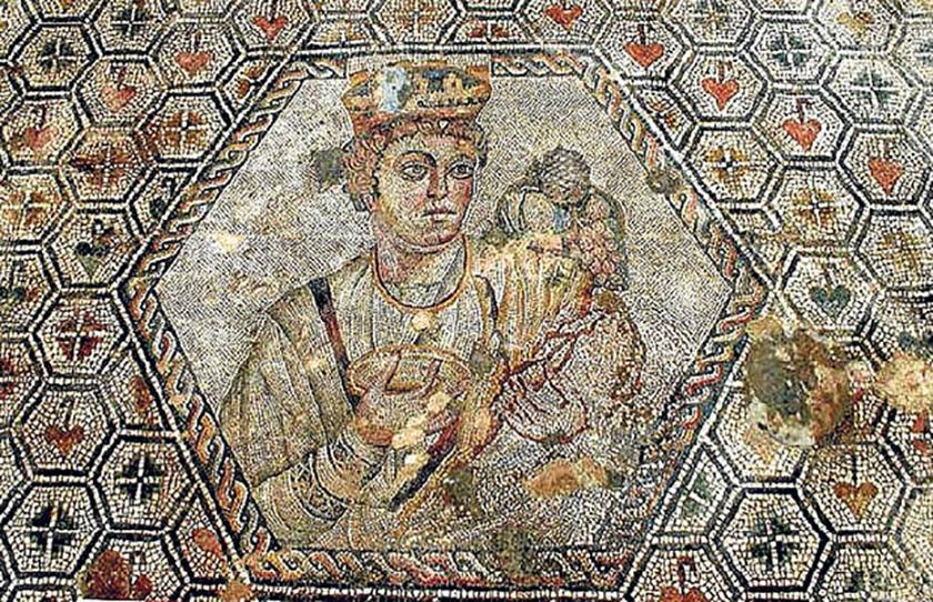 Mosaico de la abundancia en Quintanares (Soria)