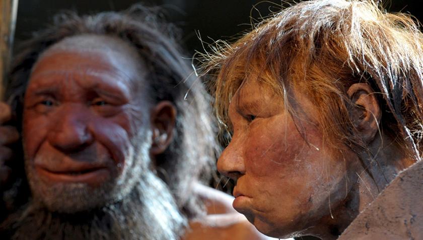 Reconstrucción de aspecto de los neandertales
