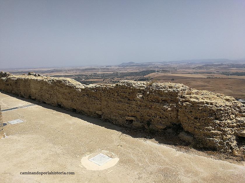 Las vistas desde el cerro de Medina Sidonia, clave en la protección del sur peninsular