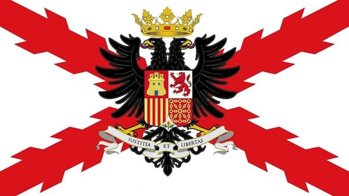 Bandera de los Tercios de Flandes