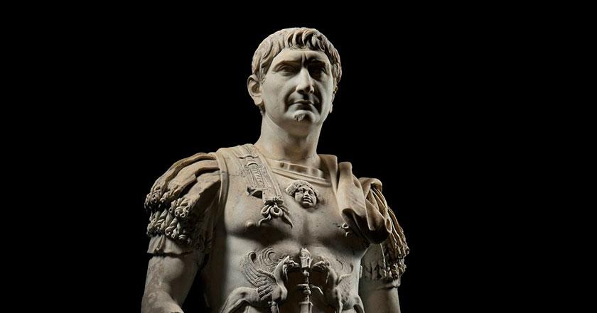"""Trajano, simplemente """"el mejor"""" de los cinco buenos emperadores."""