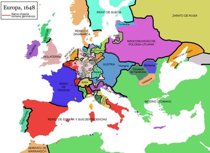 Europa tras la Paz de Westfalia
