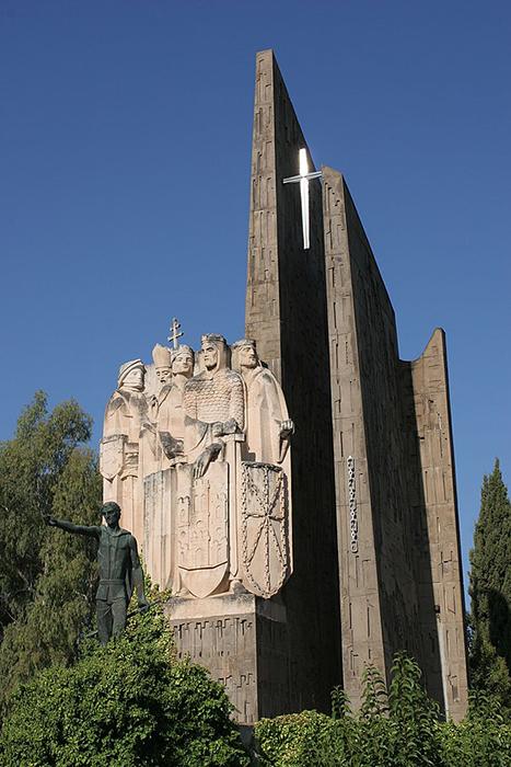 Monumento de la Batalla de Las Navas de Tolosa en La Carolina (Jaén)