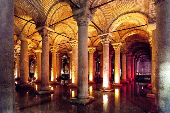 Cisternas de Constantinopla.