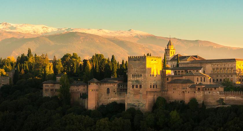 Una maravilla, la Alhambra de Granada.