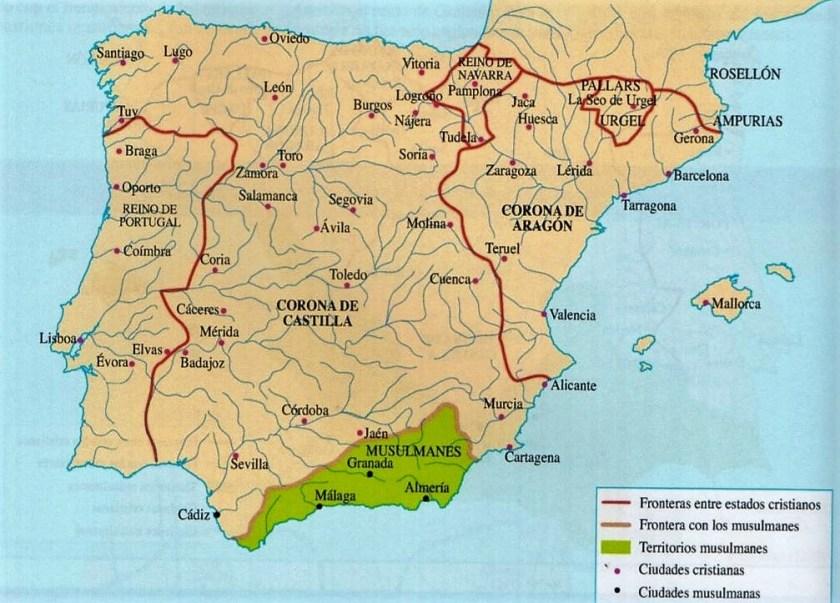 El reino de Granada en al año 1264