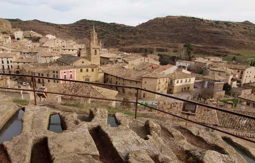 Tumbas medievales de Uncastillo