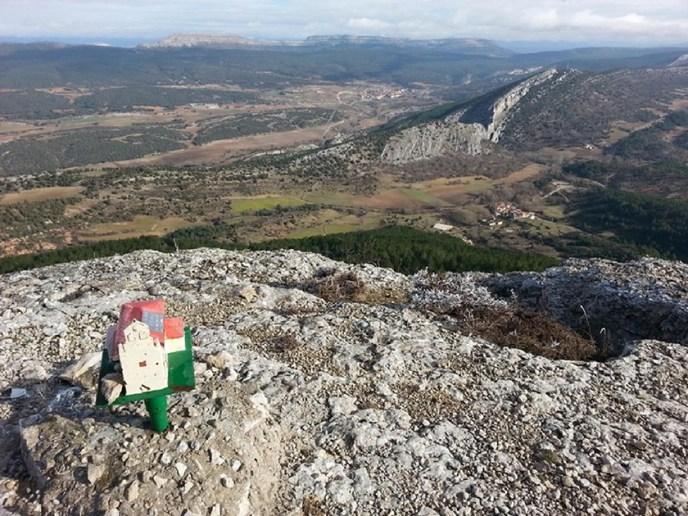 Las vistas desde Peña Cervera
