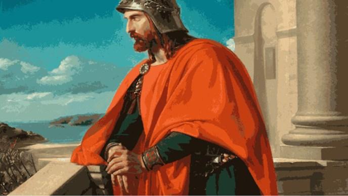 Ataulfo, el rey visigodo que llevó a su pueblo a Hispania.