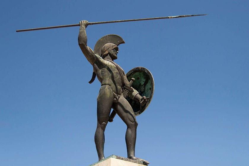Leónidas I, en Esparta