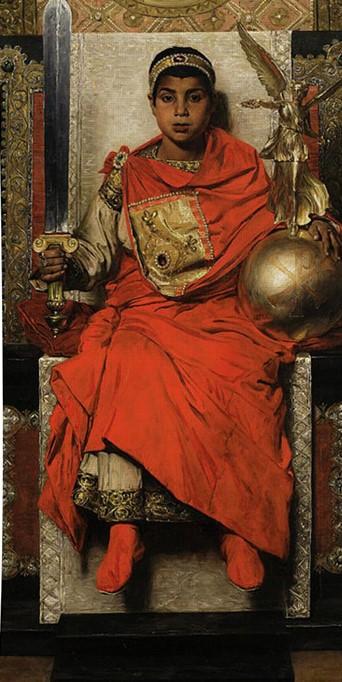 Honorio, un niño cuando es nombrado emperador occidental