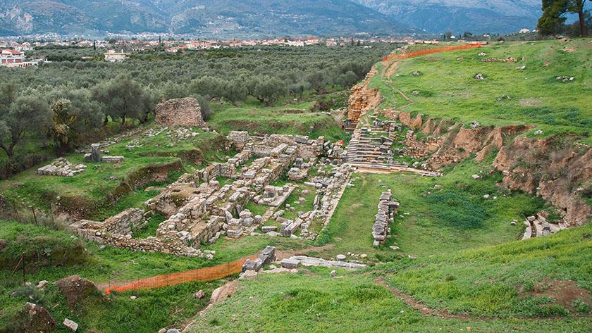 Yacimiento arqueológico de Esparta