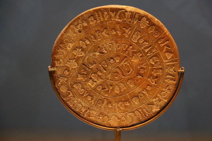 El disco de Festos, el gran interrogante del pueblo minoico