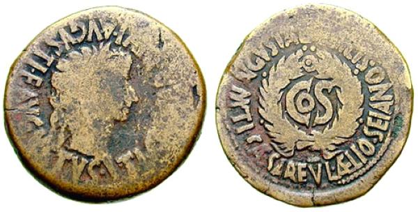 Monedas de Sajano en Bilbilis