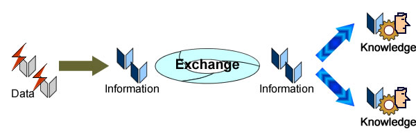Data is meaningless, information meaning is set by semantic domains.