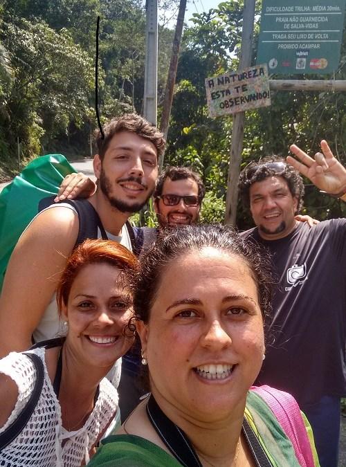 Amigos pra vida toda, Bruno, Beth e Daniel.