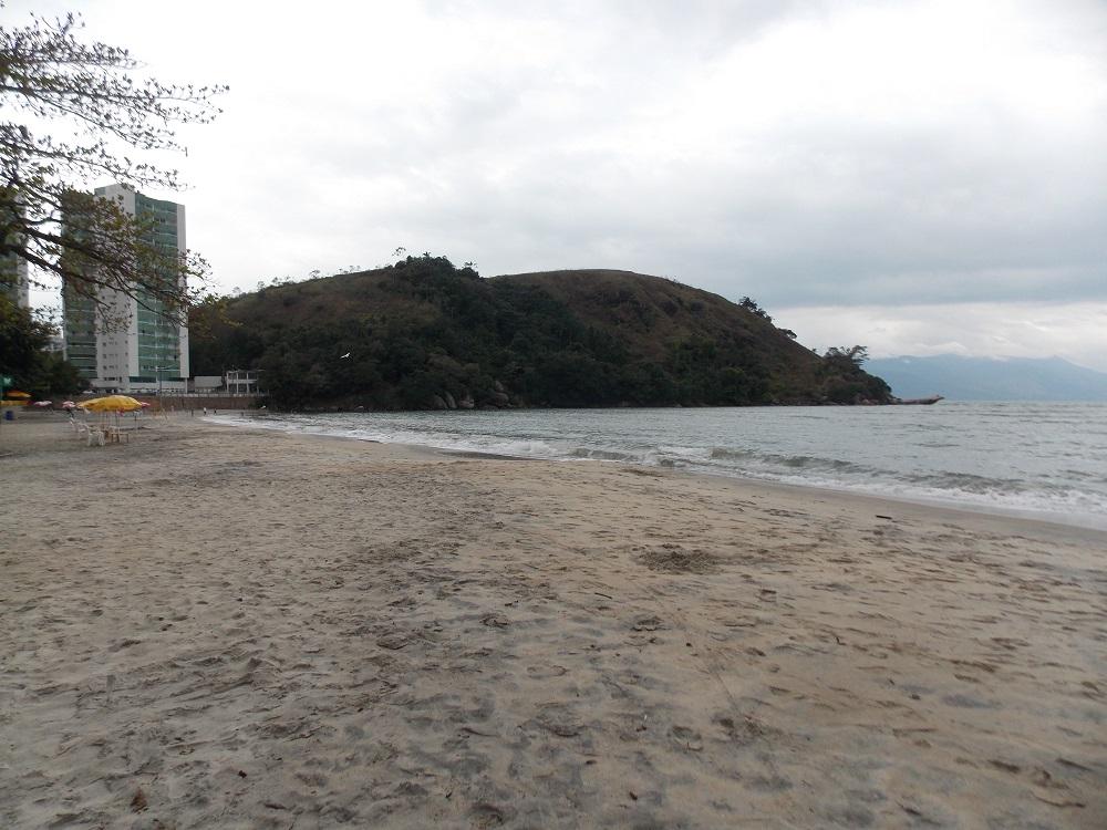 vista da praia do jacare - Aventuras em Caragua – 05 de outubro de 2016