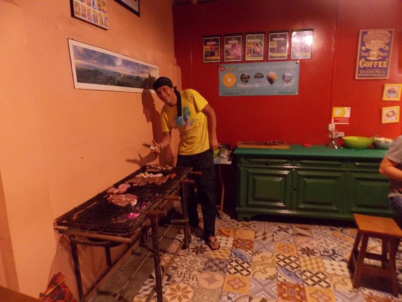 Viajante solitário da Colômbia. Juan Colombiandantes.