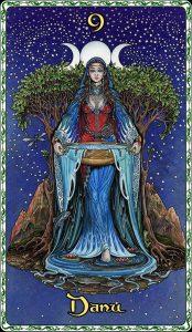 Deusa Danu (Dana / Anu), Mãe dos Tuatha Dé Danann